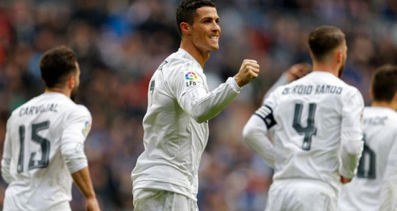 Real Madrid Celta Vigo'ya gol oldu yağdı