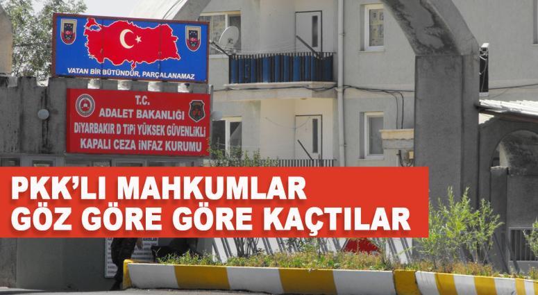 Diyarbakır Cezaevinden 'İP'li firar!