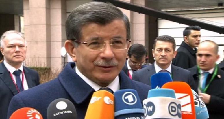 Davutoğlu: 'Türkiye AB'yle çalışmaya hazır'