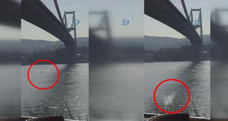 Boğaz Köprüsü'nde intihar!
