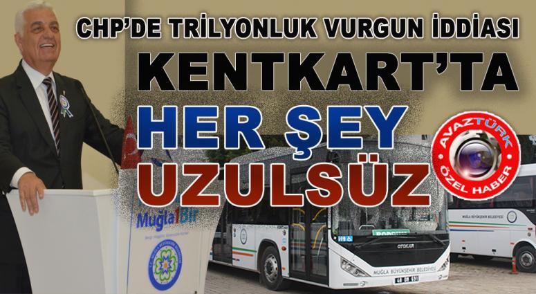 Muğla'da, CHP'li Belediye'de trilyonluk VURGUN!