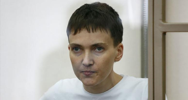 Tutuklanan Ukraynalı kadın pilot grevde!