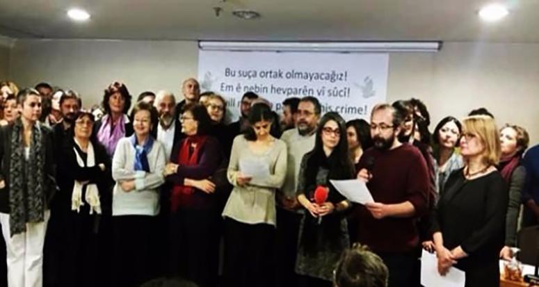 Akedemisyenler'in PKK desteği!