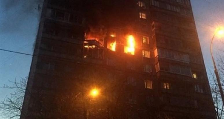 Moskova'da şiddetli patlama