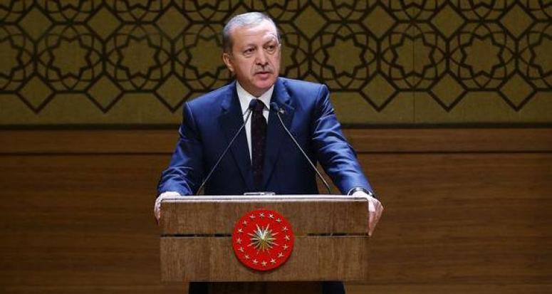 Eşinin yaktığı kadına Erdoğan sahip çıktı
