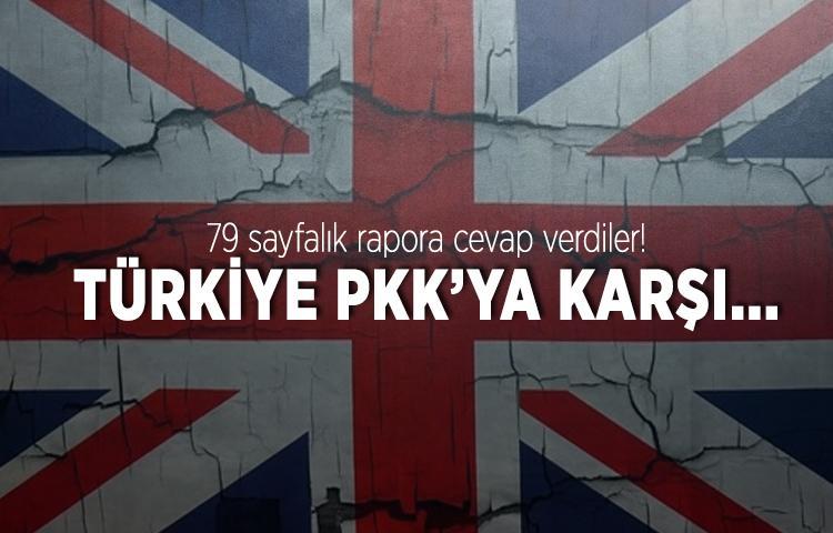 İngiltere'den flaş Türkiye ve PKK açıklaması