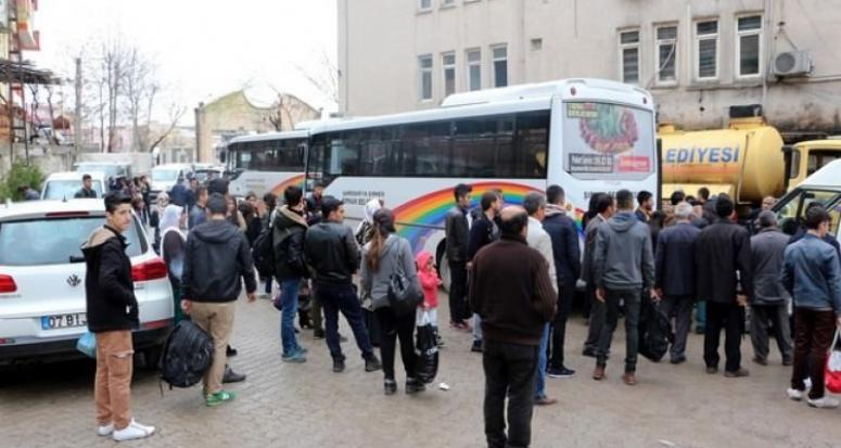 Şırnak'taki YGS adayları için ücretsiz otobüs tahsis edildi