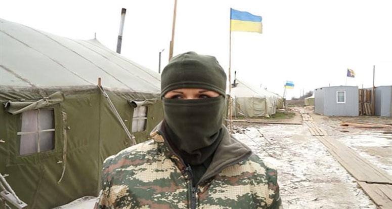 Binlerce Ukraynalı kadın asker var!