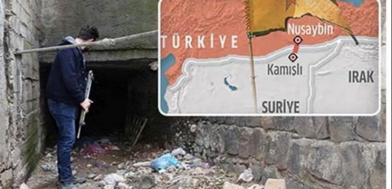 PYD tünellerden PKK'ya silah yolluyor