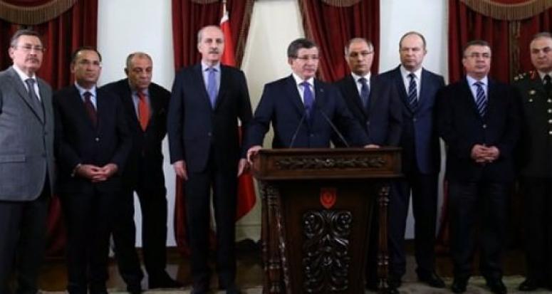 Patlama sonrası Davutoğlu'dan 'acil' kodlu toplantı