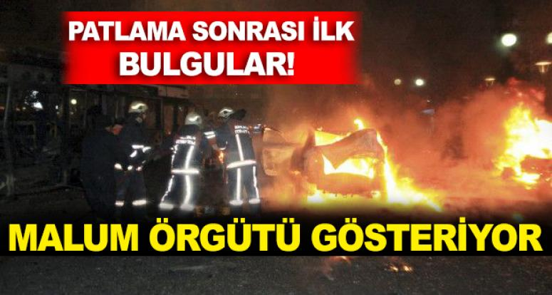 Ankara saldırısıyla ilgili ilk bulgular o örgütü işaret ediyor!