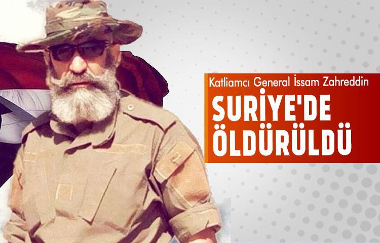 Katil General Suriye'de öldürüldü
