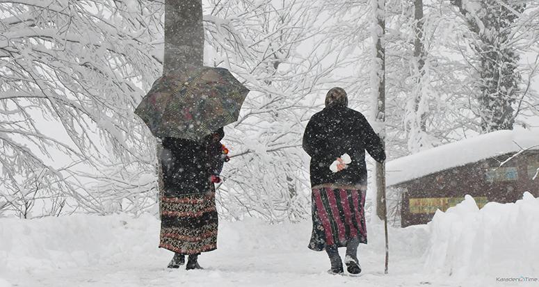 Meteorolojiden 'yoğun kar' uyarısı