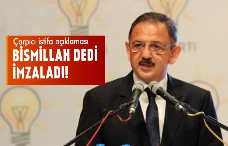 Özhaseki'den çarpıcı istifa açıklaması!
