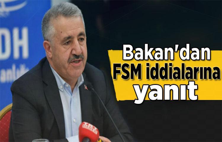 Bakan'dan FSM iddialarına yanıt!