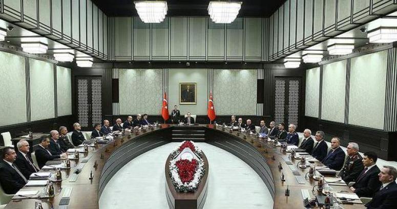 Milli Güvenlik Kurulu toplantısı yapıldı