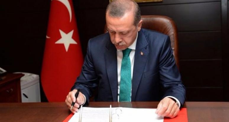 Cumhurbaşkanı Erdoğan 6 kanunu onadı