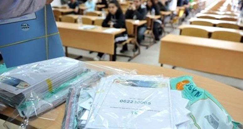 YGS'de soru kitapçığı fotoğrafı paylaşan adayın sınavı iptal