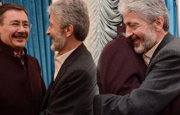 Yeni başkan Tuna'dan Gökçek'e jest