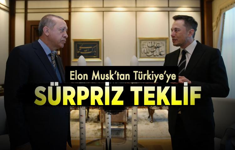 Elon Musk'tan Türkiye'ye sürpriz teklif