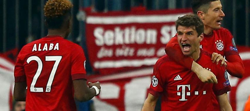 Bayern'den muhteşem geri dönüş