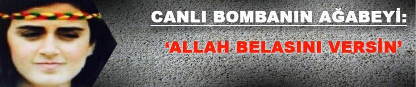 Canlı bombanın ağabeyinden ibretlik paylaşım