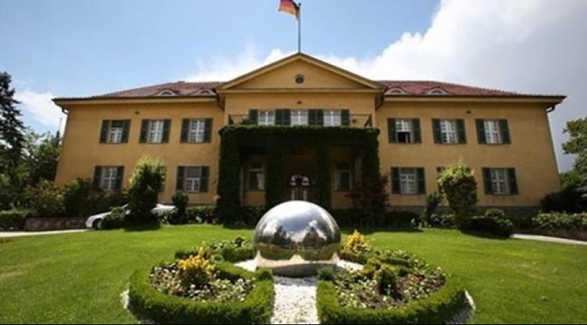 Almanya'nın Ankara Büyükelçiliği kapatıldı