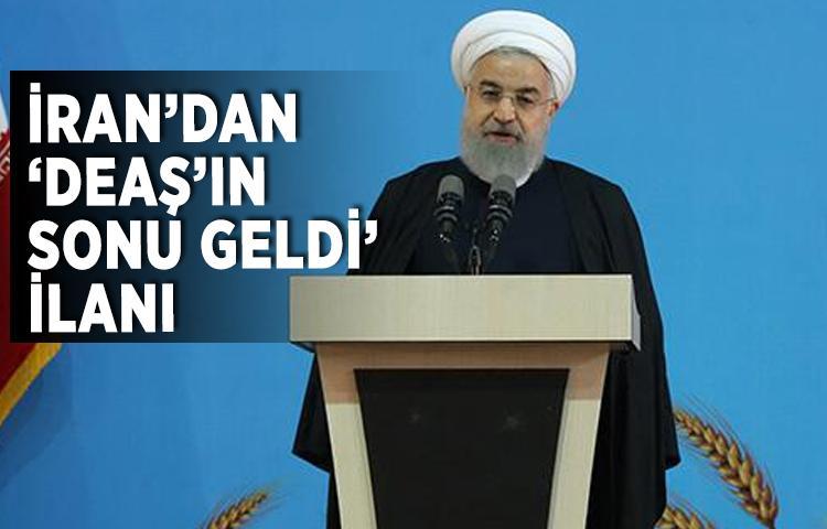 İran'dan 'DEAŞ'ın sonu geldi' ilanı