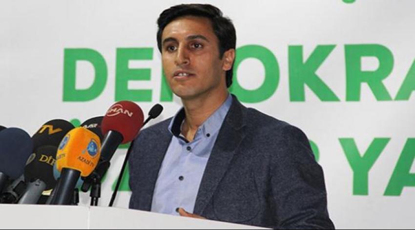 DBP Eş Genel Başkanı serbest