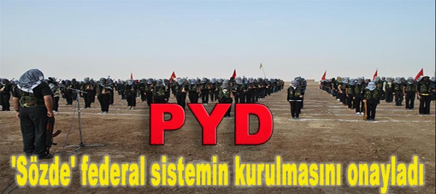 Suriyeli Kürtler sözde federal sistemi onayladı