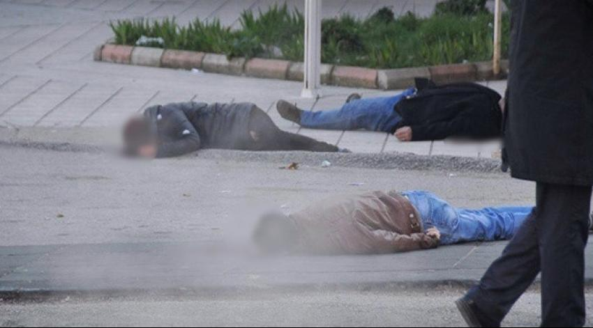 Ankara'da sokak ortasında dehşet!
