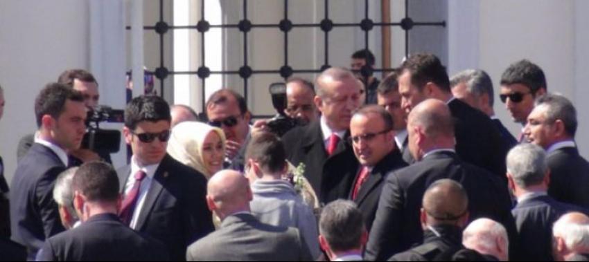 Cumhurbaşkanı Erdoğan cami açılışını yaptı