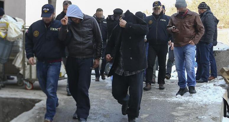 Ankara'daki DAEŞ operasyonunda 7 tutuklama