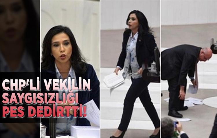 CHP'li vekilin saygısızlığı pes dedirtti!