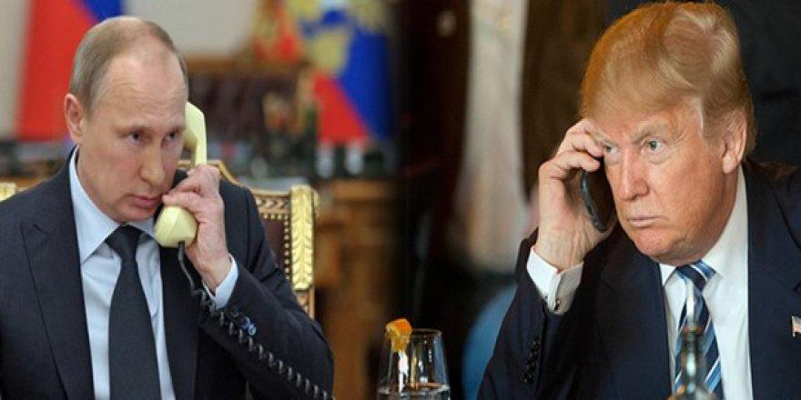 Putin'den Trump'a sürpriz telefon!