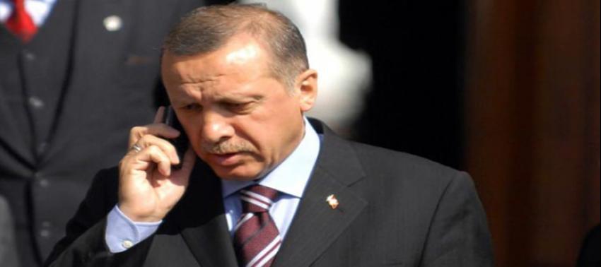Erdoğan, Davutoğlu ve Ala'yı arayıp bilgi aldı
