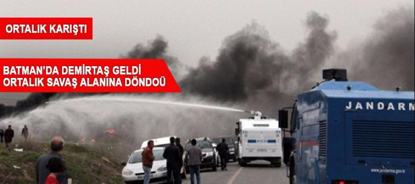 Demirtaş'ın 'provokasyon programı' başlamadan olaylar çıktı