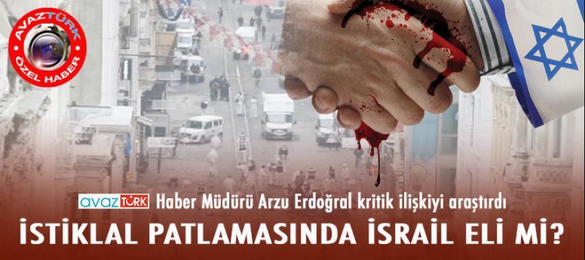 Taksim patlamasında PYD'ye İsrail eli!