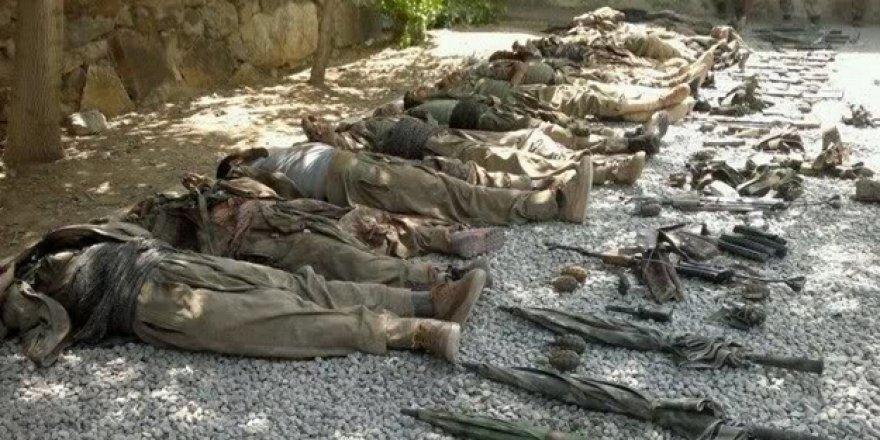 Afrin'de 3291 terörist yok edildi!