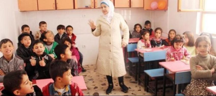 52 bin Suriyeli çocuğa eğitim veriliyor