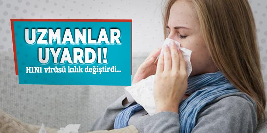 Uzmanlar uyardı! H1N1 virüsü kılık değiştirdi…