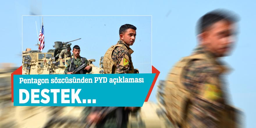 Pentagon sözcüsünden PYD açıklaması