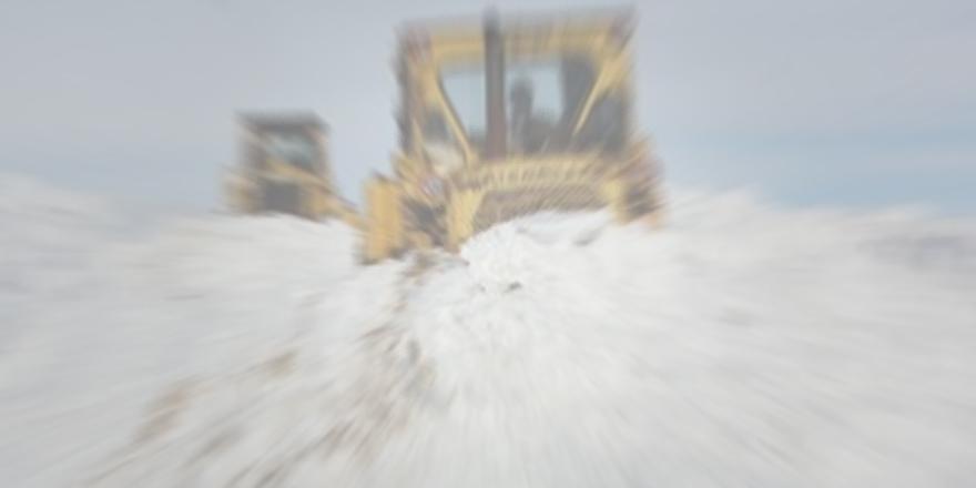 358 köy yolu ulaşıma kapandı
