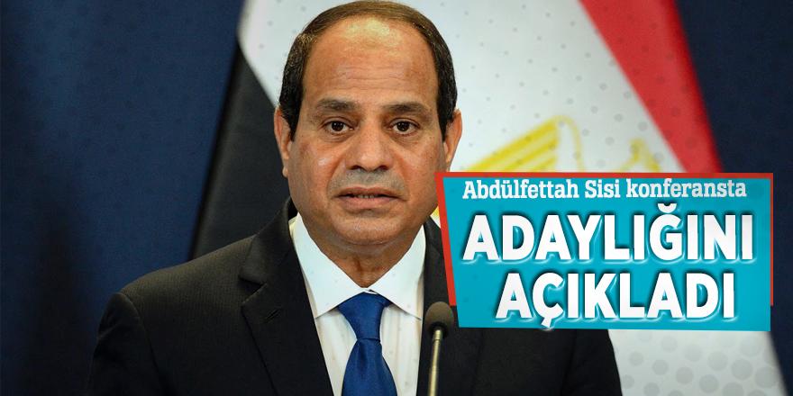 Abdülfettah Sisi konferansta adaylığını açıkladı