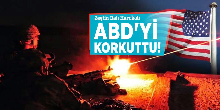 Zeytin Dalı Harekatı ABD'yi korkuttu!