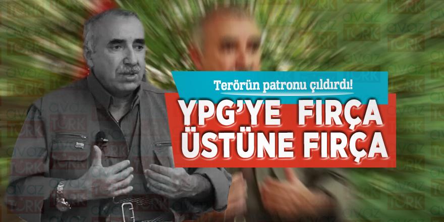 Terörün patronu çıldırdı! YPG'ye fırça üstüne fırça…