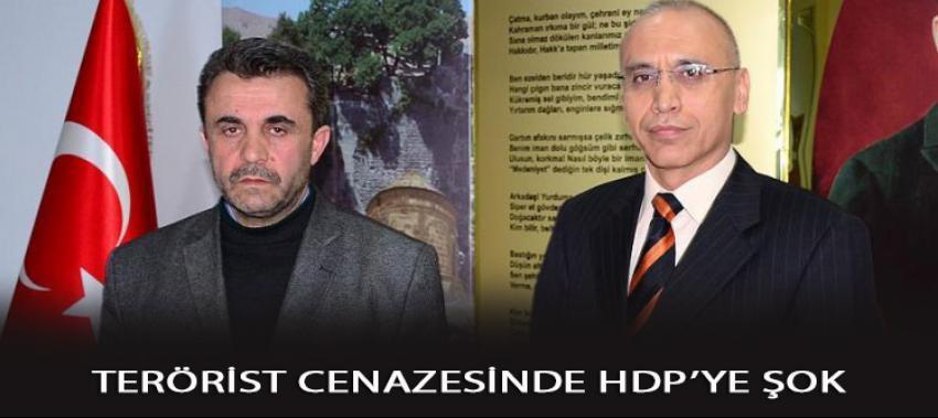 Terörist kızının cenazesinde HDP'nin olmasına izin vermedi