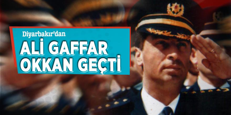 Diyarbakır'dan Ali Gaffar Okkan geçti