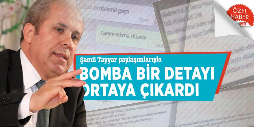 Şamil Tayyar paylaşımlarıyla bomba bir detayı ortaya çıkardı