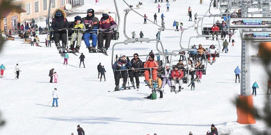 Yarıyıl tatili kış turizmini olumlu etkiledi